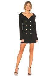 Marissa Webb Robin Blazer Dress Black