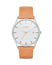 Skagen Slim Holst Watch 40Mm White
