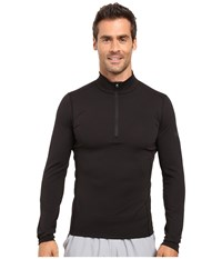Arc'teryx Phase Ar Zip Neck Long Sleeve Black Men's Clothing
