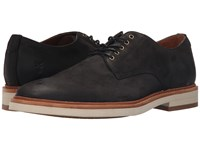 Frye Joel Oxford Black Soft Nubuck Men's Shoes