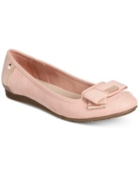Anne Klein Sport Alivia Slip On Ballet Flats Rose Quartz