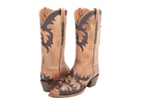 Lucchese L4723 Pearl Mad Dog Goat Cowboy Boots Tan