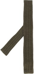 Cerruti 1881 Knitted Tie Green