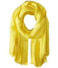 Love Quotes Linen Eyelash Scarf Antique Moss Scarves Yellow