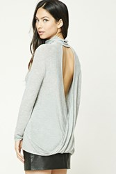 Forever 21 Twisted Open Back Top