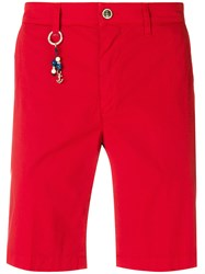 Re Hash Key Ring Bermuda Shorts Red
