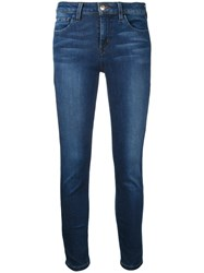 Joe's Jeans Stonewashed Cropped Blue