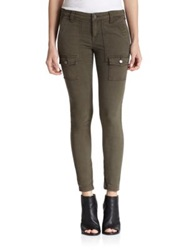 Joie So Real Skinny Cargo Pants Fatigue
