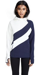 Tory Sport Reflective Performance Hoodie Tory Navy
