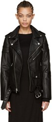 Blk Dnm Black Leather 8 Jacket