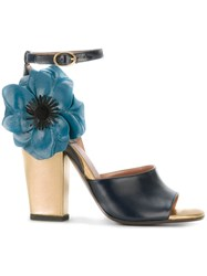 Laurence Dacade 'Magic Rumpled' Sandals Blue