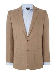 Chester Barrie Check Sports Jacket Brown