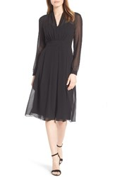 Anne Klein Women's New York A Line Chiffon Dress