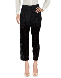 Torn By Ronny Kobo Casual Pants Black