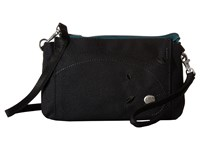 Haiku Stride Black Juniper Cross Body Handbags