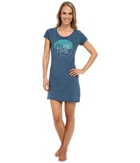 Life Is Good Night Shirt Pacific Blue Women's Pajama