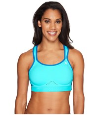 Champion Warrior Bra Turquoise Waters Quarry Blue Heather Quarry Blue Women's Bra