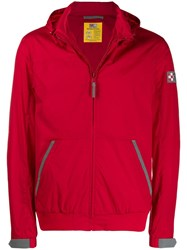 Mc2 Saint Barth Hooded Windbreaker Red