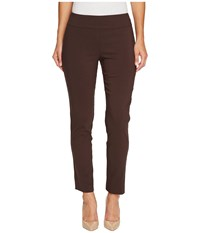 Krazy Larry Pull On Ankle Pants Brown Women's Dress Pants