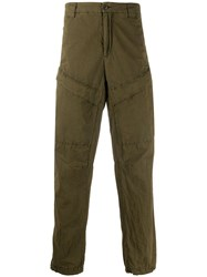 C.P. Company Tapered Leg Cargo Trousers Green
