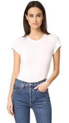 Re Done 1960S Slim Tee Vintage White