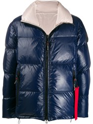 Peuterey Reversible Zipped Down Jacket Blue