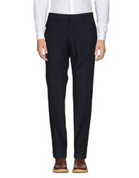 J.W. Tabacchi Casual Pants Dark Blue