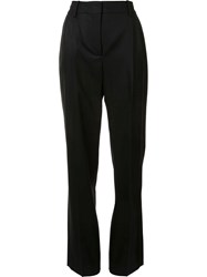Barbara Casasola High Rise Tailored Trousers Black