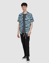 Native Youth Oceanic S Sleeve Shirt Navy