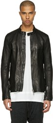 The Viridi Anne Black Leather Jacket