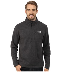 The North Face Gordon Lyons 1 4 Zip Pullover Asphalt Grey Heather Men's Long Sleeve Pullover Gray