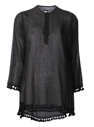 Dosa 'Tassel Kurta' Top Black