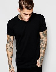 American Apparel Washed T Shirt Black