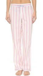 Calvin Klein Underwear Wovens Pj Pants With Piping February Stripe