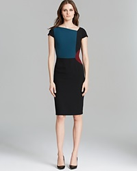 Raoul Bree Color Block Sheath