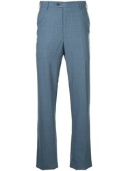 Gieves And Hawkes Tailored Trousers Blue