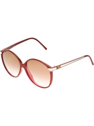 Balenciaga Vintage 80S Sunglasses Red