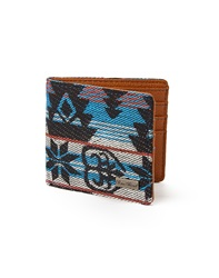 Icon Brand Wallet In Aztec Print