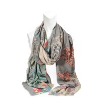 Zadig And Voltaire Maxy Patchwork Scarf 140X250