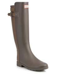 Hunter Original Two Tone Rain Boots Brown