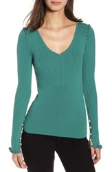 Chelsea 28 Chelsea28 Pearly Bead Detail Sweater Teal Finland