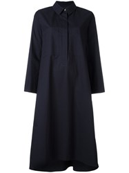 Odeeh Shirt Dress Blue