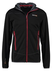 Regatta Static Soft Shell Jacket Black Grey