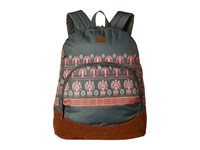 Roxy Fairness Backpack Thyme Perfect Wave Border Backpack Bags Black