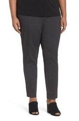 Eileen Fisher Plus Size Women's Seam Detail Pull On Pants