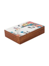 Fornasetti Printed Storage Box Brown