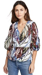 Parker Dita Blouse Feathered