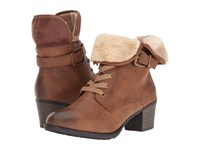 Spring Step Liona Medium Brown Women's Lace Up Boots