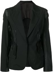 Jean Paul Gaultier Vintage Blazer With Attached Details Black