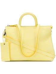 Marsell Logo Stamp Tote Yellow And Orange